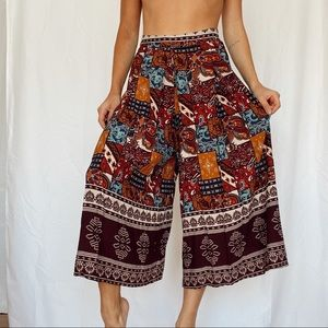 KYRRA boho flowy pants